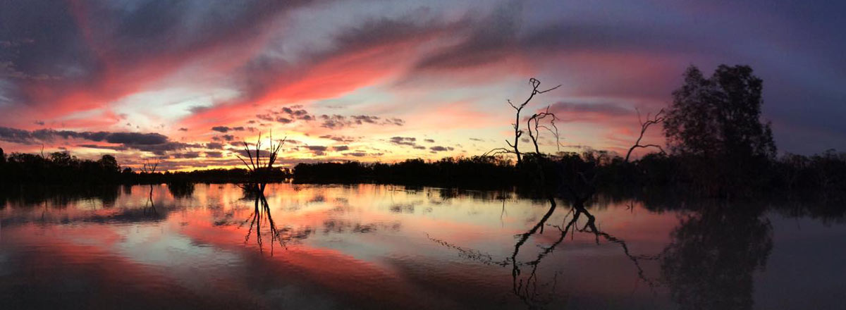 Menindee Lakes Sunset
